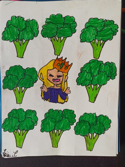 flanny et les brocolis