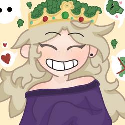 Flanny reine brocolis edit