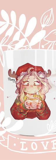 Mug flanny festive