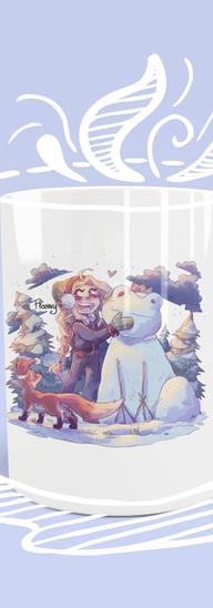 flanny et renard neige