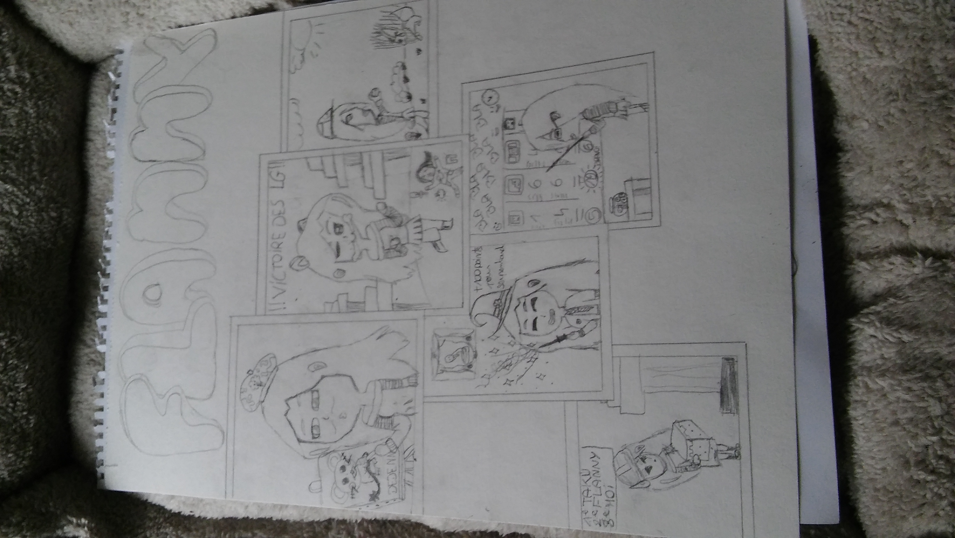 dessin Flanny