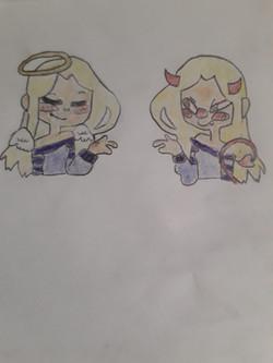 Flanny ange et démon