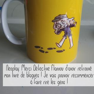 Avis boutique flanny mug