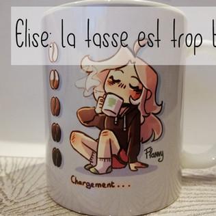 Mug Flanny Chargement - café