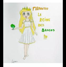 Flanny reine broco