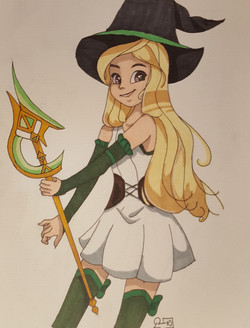 Flanny sorcière