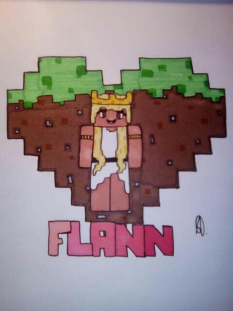 Fan art Flann