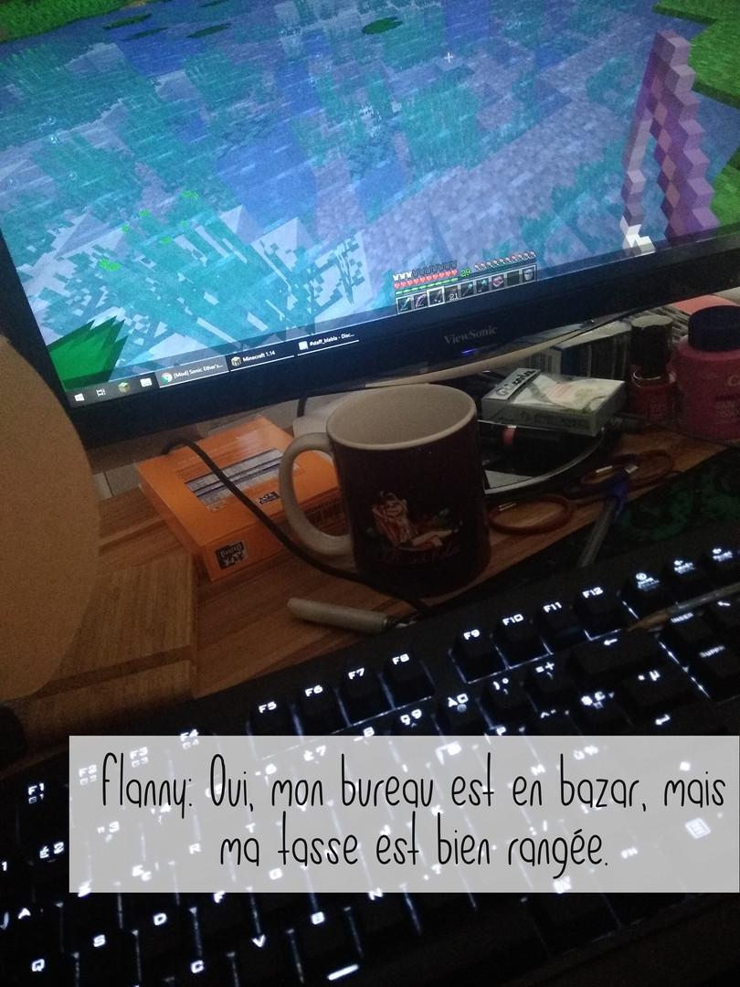 flanny mug Chill and Relax - Marron foncé