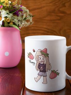 flannou fraise mug