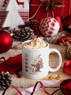 mug flanny chargement café