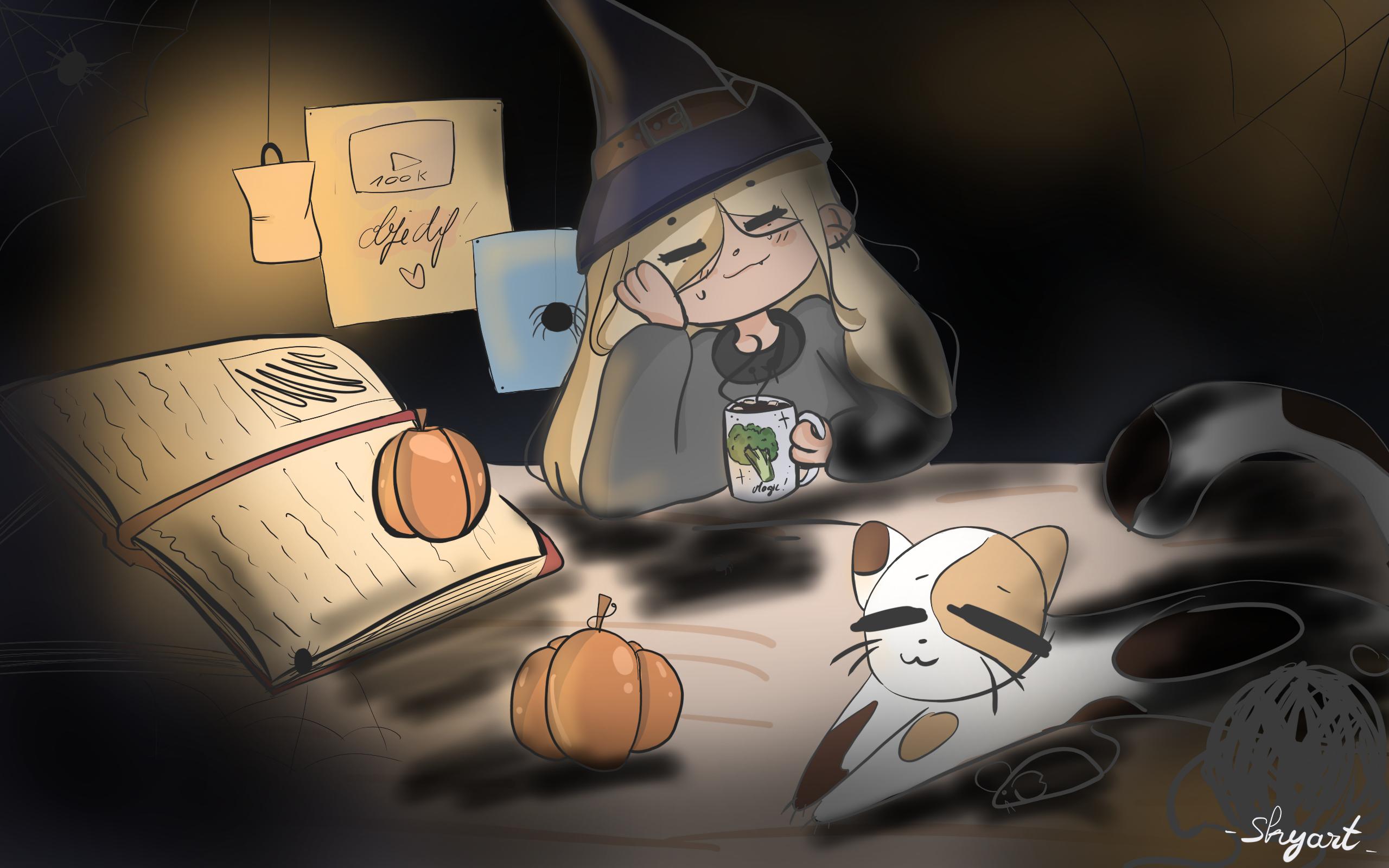 Flannou sorcière