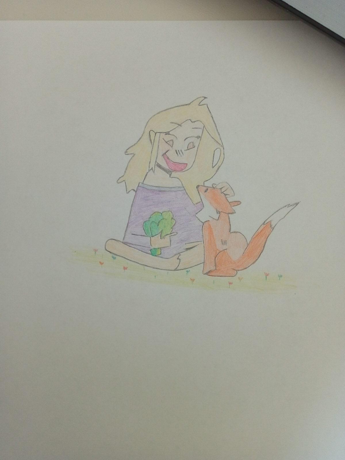 Flanny et son renard