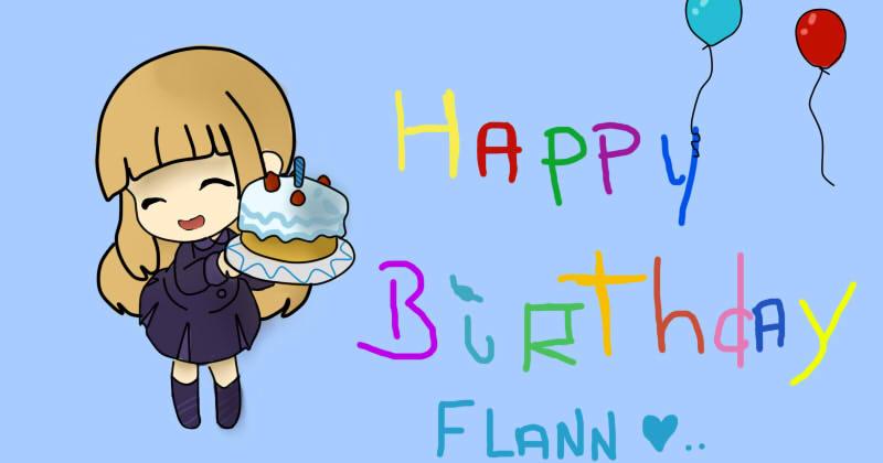 Happy Birthday Flanny