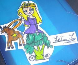 flanny reine brocolis cheval