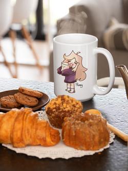 Mug flanny chocolat chamallow