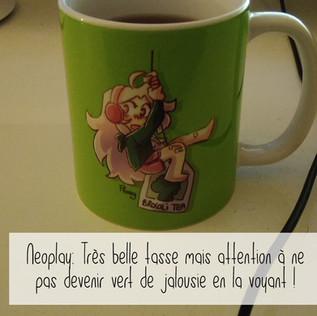 Mug Flanny Thé brocoli