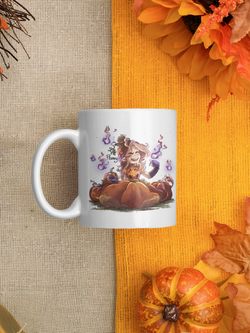 mug flanny pumpkin