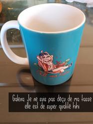 Flanny mug Chill and relax - Bleu