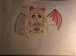 flanny ange/démon