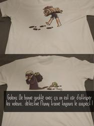 T-shirt Détective Flanny
