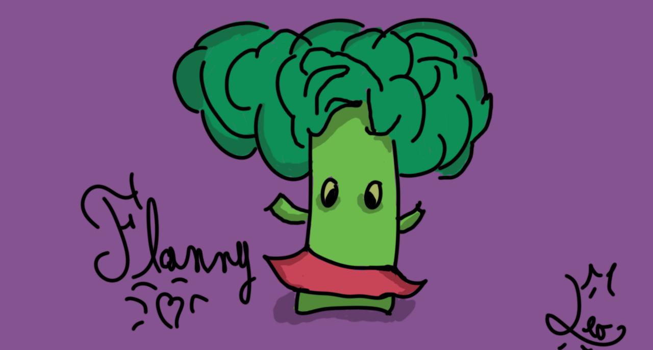 Flannou brocoli