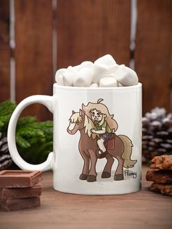 Mug flanny cheval