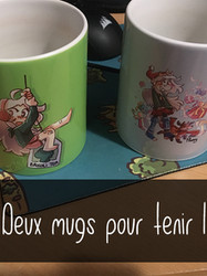 Mugs Flanny thé brocoli  noel