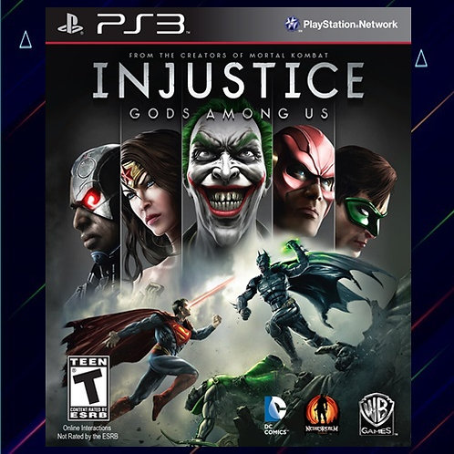 Injustice Gods Among Us Ultimate Edition - Midia Digital (PS3)