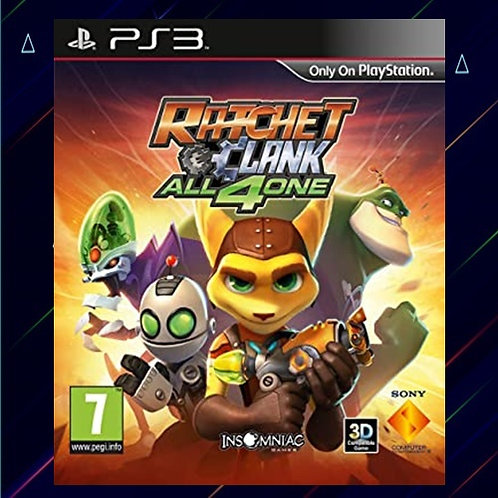 RATCHET & CLANK: ALL 4 ONE - Midia Digital (PS3)