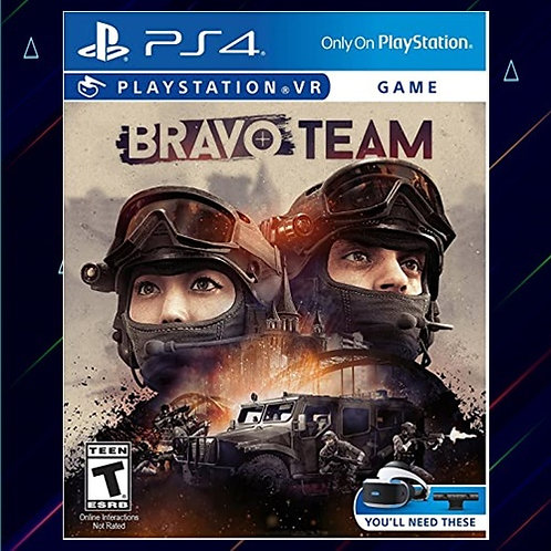 Bravo Team VR PS4 - Midia Digital (PS4)