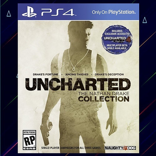 UNCHARTED THE NATHAN DRAKE COLLECTION - Midia Digital (PS4)