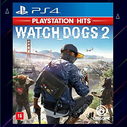 Watch Dogs 2 - Midia Digital (PS4)
