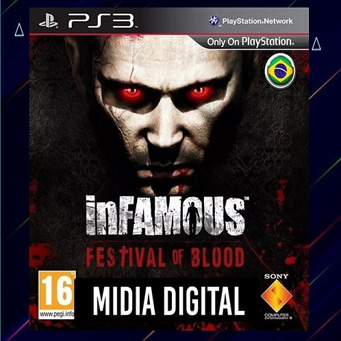 Infamous Festival of Blood - Midia Digital (PS3)