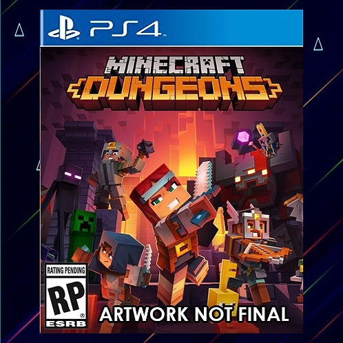 Minecraft Dungeons - Midia Digital (PS4)