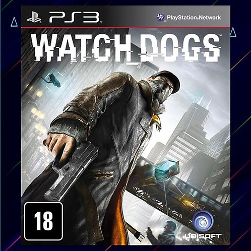 Watch Dogs - Midia Digital (PS3)