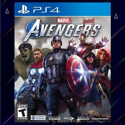 Marvels Avengers - Midia Digital (PS4)