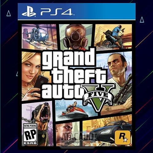 Grand Theft Auto V (GTA 5) - Midia Digital (PS4)