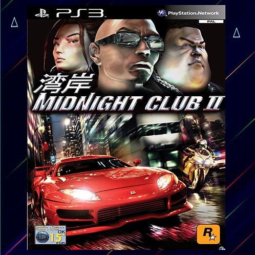 Midnight Club 2 - Midia Digital (PS3)