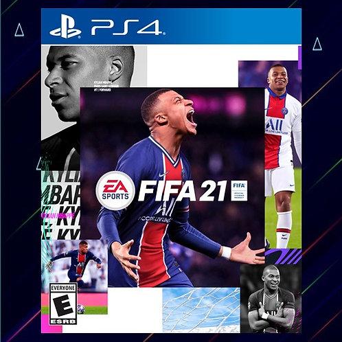 Fifa 2021 - Midia Digital (PS4)