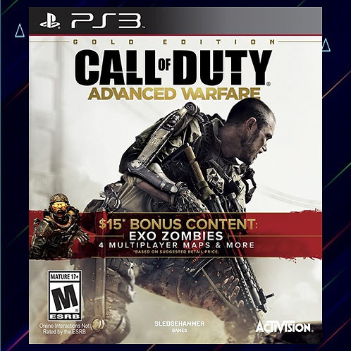Call of Duty Advanced Warfare - Midia Digital (PS3)