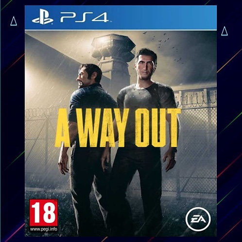 A Way Out - Midia Digital (PS4)