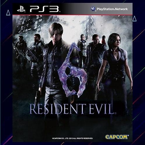 Resident Evil 6 - Midia Digital (PS3)