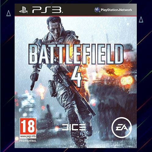 Battlefield 4 - Midia Digital (PS3)
