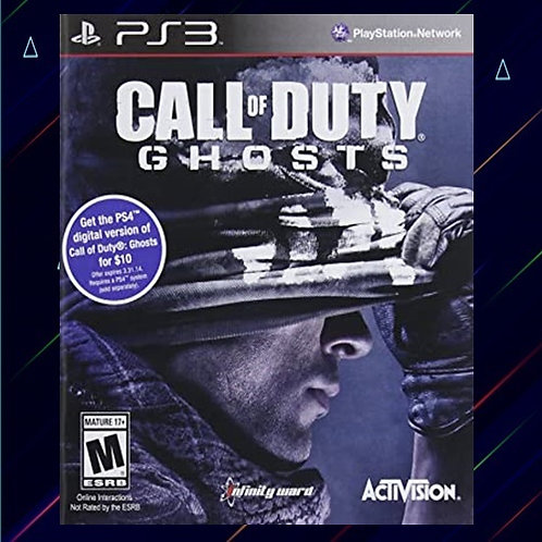 Call Of Duty Ghosts - Midia Digital (PS3)