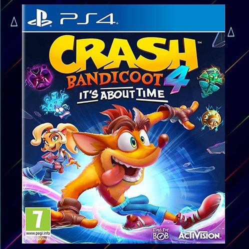 Crash Bandicoot 4 It's About Time - Midia Digital (PS4)