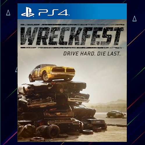 Wreckfrest - Midia Digital (Ps4)