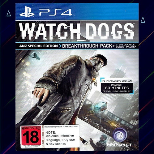 Watch Dogs - Midia Digital (PS4)