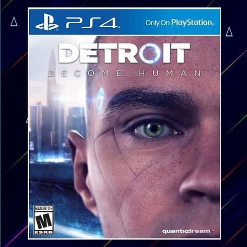 Detroit Become Human - Midia Digital (PS4)