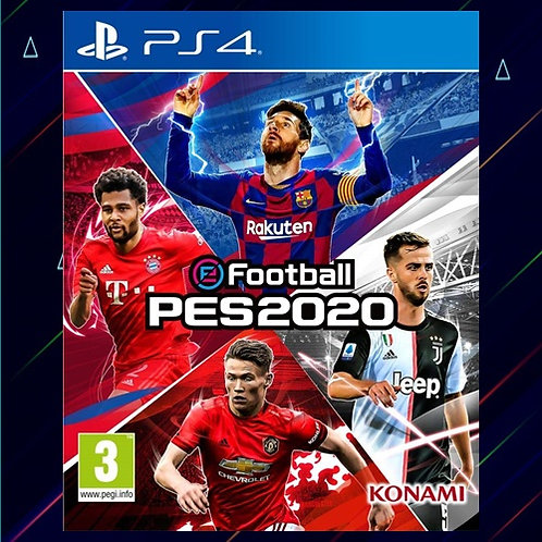 EFOOTBALL PES 2020 - Midia Digital (PS4)