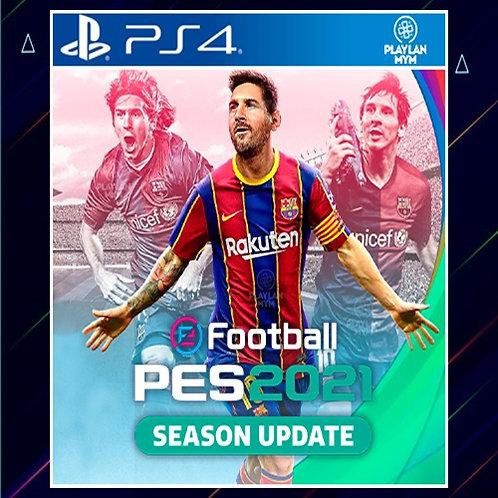 PES 2021 SEASON UPDATE STANDARD EDITION - Midia Digital (PS4)